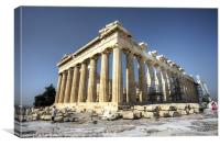 The Parthenon, Canvas Print