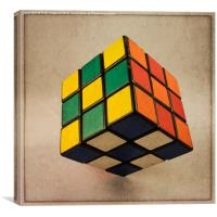 Cube of Rube , Canvas Print