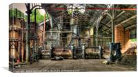 The Foundry, Canvas Print