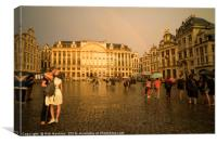 From Brussells with Love , Canvas Print