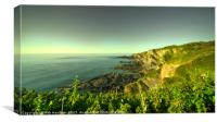 North Devon Coastscape , Canvas Print