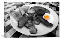 Fry Up , Canvas Print