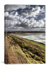 Saunton View, Canvas Print