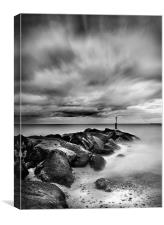 Southwold Seashore, Canvas Print