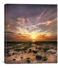 Norfolk Sunset, Canvas Print