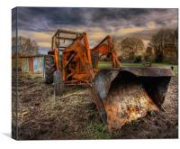 Tractor Time, Canvas Print