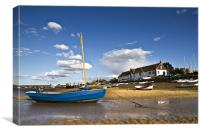 Burham Overy Staithe Boathouse, Canvas Print
