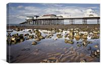 Cromer Pier Reflections, Canvas Print