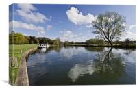 Coltishall Reflections, Canvas Print