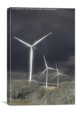 Green Electricity, Canvas Print
