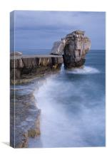 Pulpit rock  in Portland Bill, Dorset, England, Canvas Print