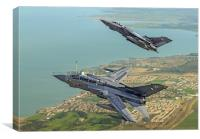 Tornado GR4 Role Demonstration pair, Canvas Print