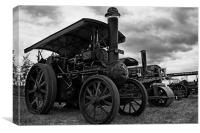 Steam Engines, Canvas Print