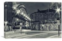 Doon The Quayside, Canvas Print