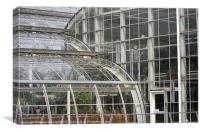 Wisley glasshouse, Canvas Print