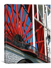 Laxey Wheel, Isle of Man, Canvas Print