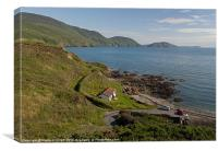 Niarbyl Bay Panorama, Canvas Print