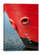 Red Hull, Canvas Print
