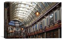 Leadenhall Market, Canvas Print