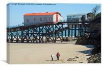 Tenby Lifeboat Stations , Canvas Print