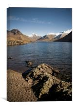 Rugged Wastwater Shore, Canvas Print