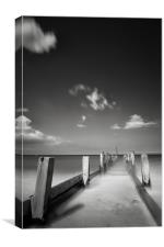 Last Ride Home - Happisburgh, Canvas Print