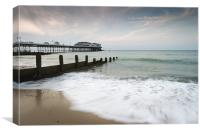 Seascape - Cromer, Canvas Print