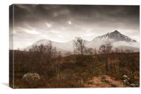 Glen Etive - Scotland, Canvas Print