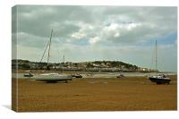 From Instow to Appledore , Canvas Print