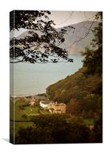 The Old Manor House, Lynmouth , Canvas Print