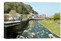 Lynmouth, North Devon, Canvas Print