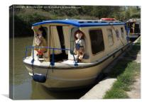 Rosie And Jim, Canvas Print