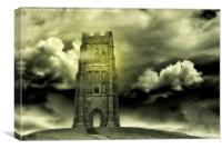 Magical Tor, Canvas Print