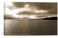The Sound of Mull, Canvas Print