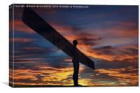 Angel Of The North - Gateshead, Canvas Print