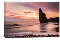 Liddle Stack, Canvas Print