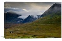 Minginish, Glen Brittle. Isle of Skye, Canvas Print