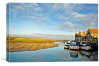 Blakeney Quay, Canvas Print