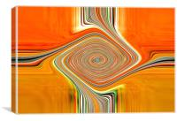 Orange+Lemons.Abstract, Canvas Print