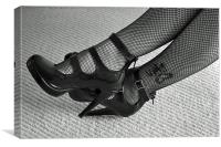 Sexy Shoes, Canvas Print