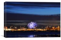 Adonia Celebrations, Canvas Print