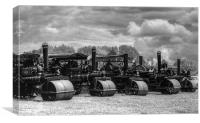 Steam Rollers, Canvas Print