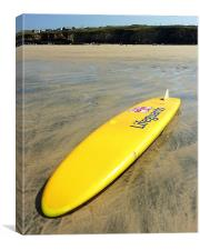 RNLI Surfing Lifeguards Gwithian, Canvas Print