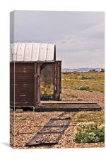 Old Boat shed, Canvas Print