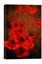 Forever Red, Canvas Print