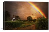 Pot of Gold, Canvas Print