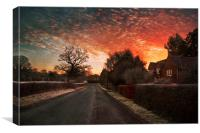 End of the Road, Canvas Print