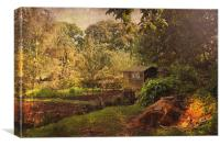 The Allotment, Canvas Print