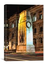 The Cenotaph, Whitehall, Canvas Print