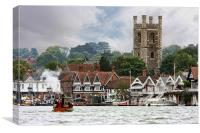 Henley-on Thames, Canvas Print